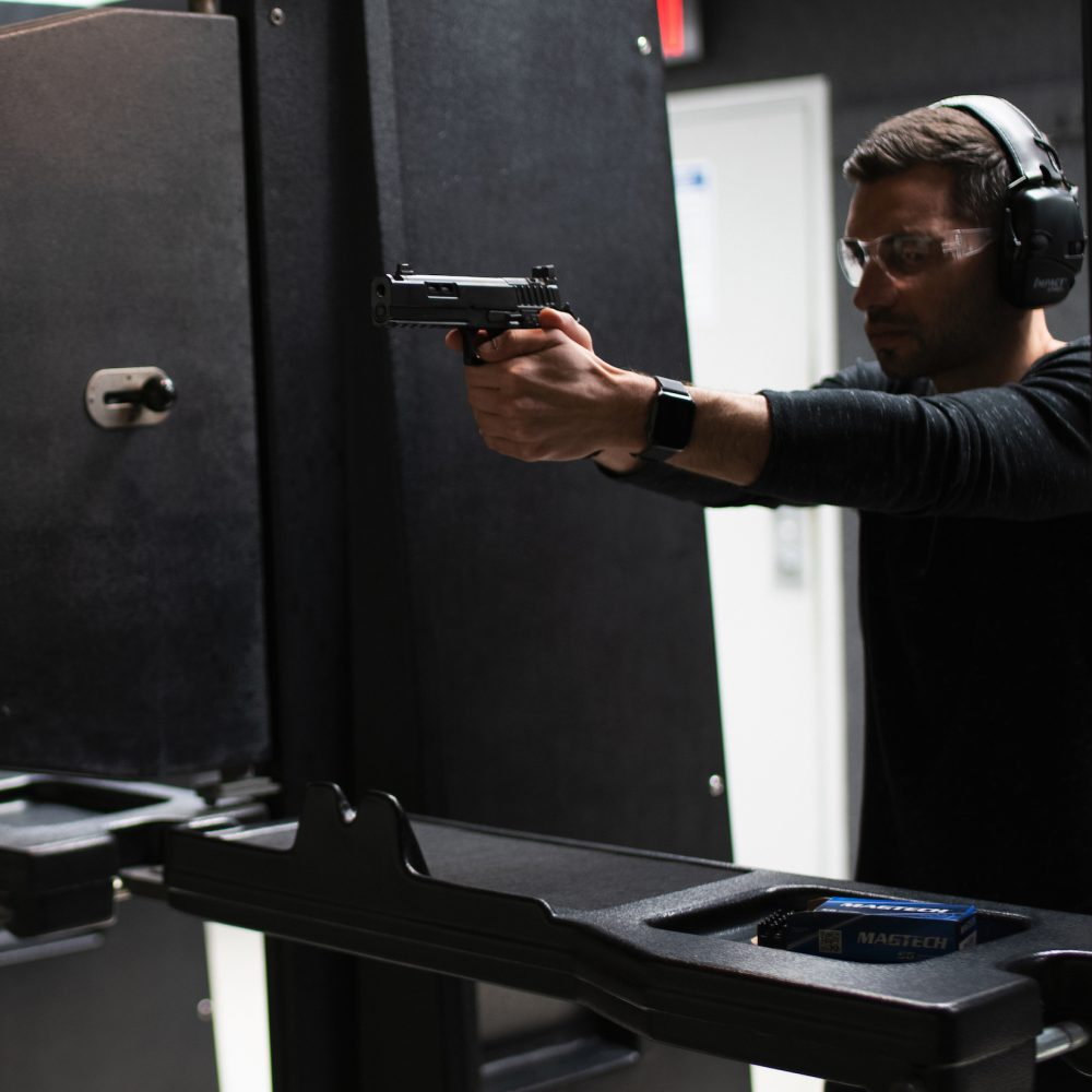 Delray Shooting Center Pistol Range