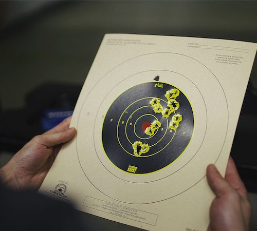 Delray Shooting Center Target